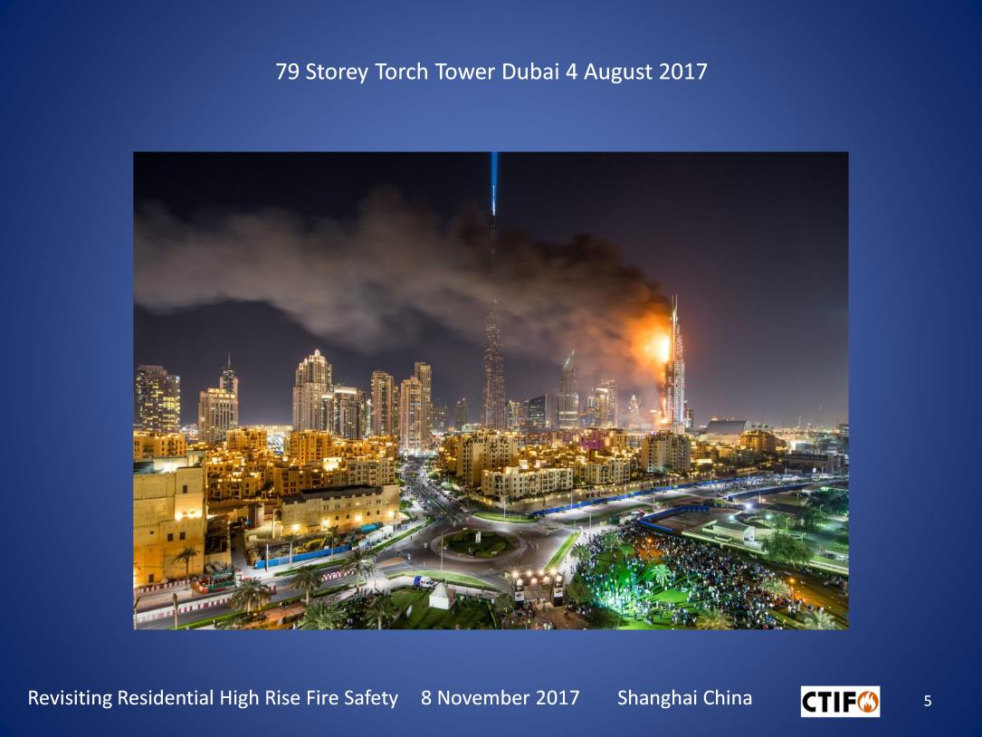 Dubai highrise fire