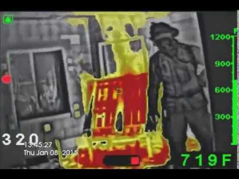 Bullard LDX Ultra High Definition Thermal Imager NEW UHD TIC - Live Fire