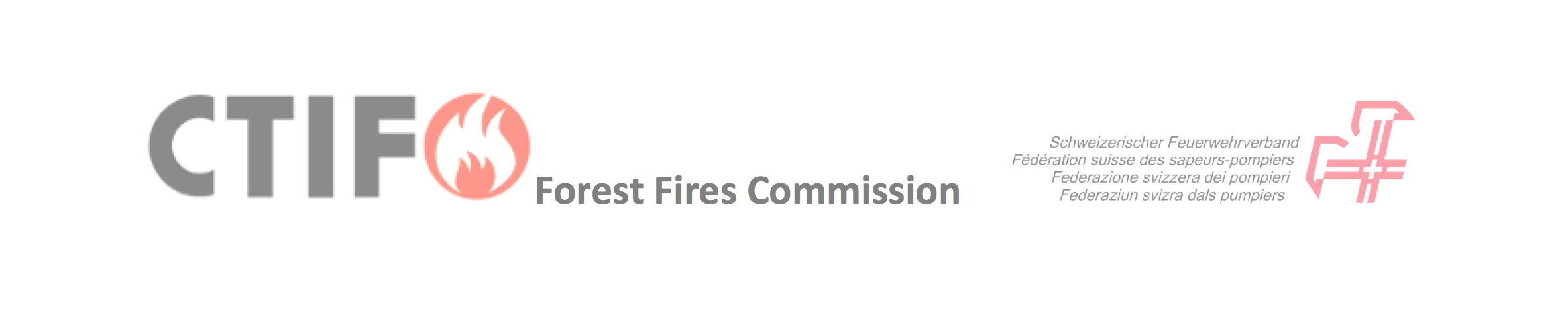 CTIF Forest fire commission banner