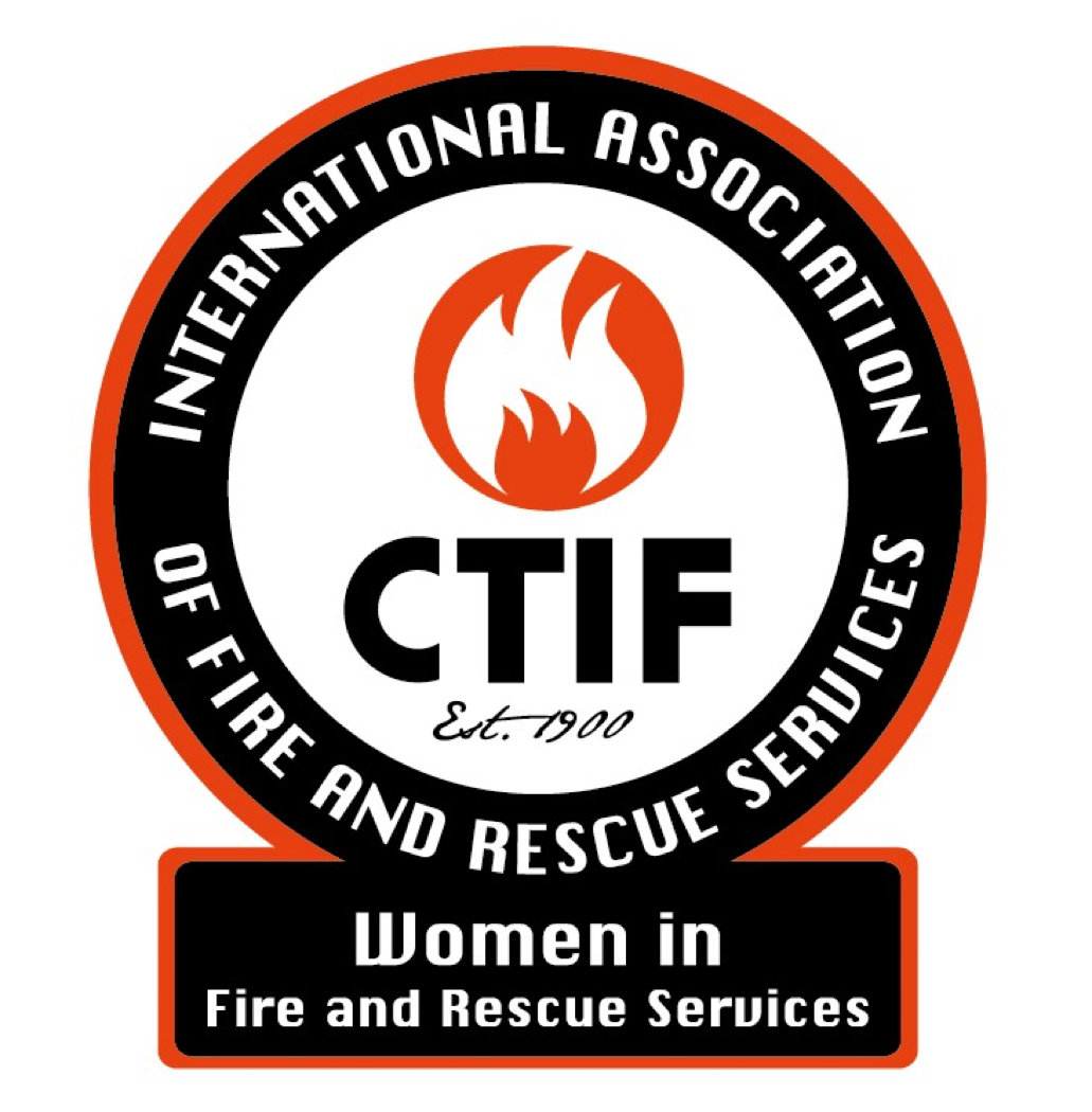 Women in Firefighting Logo