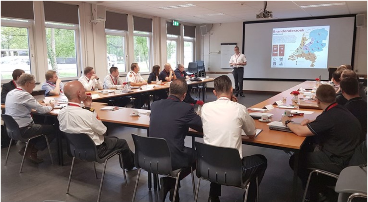 Fire Investigation Work Group in Netherlands May 2019