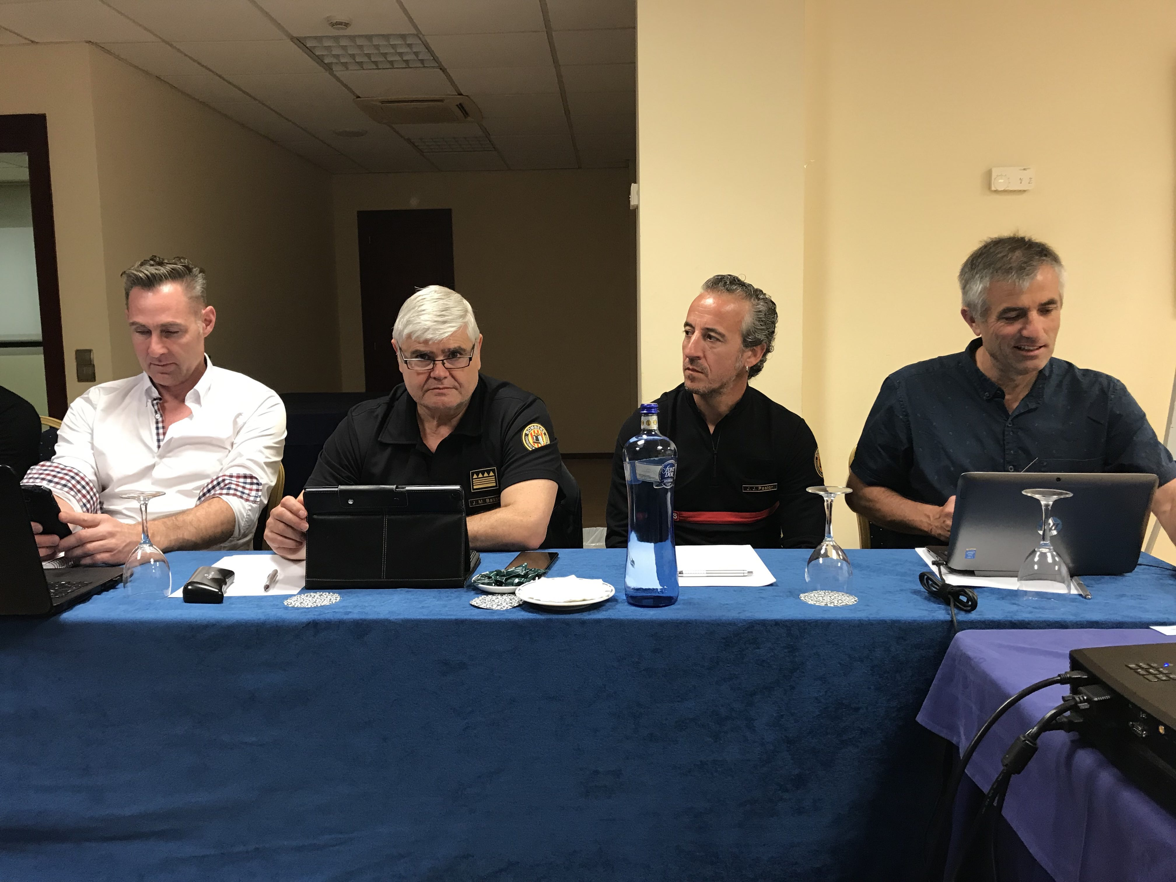 The Extrication & New Technology meeting was the first major function where Spain participated since the country came back to CTIF in 2018.