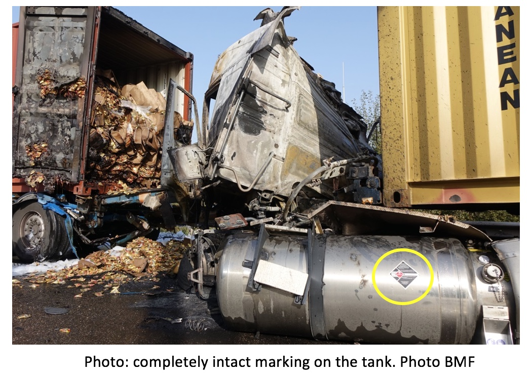 Lessons Learned from an accident involving an LNG truck
