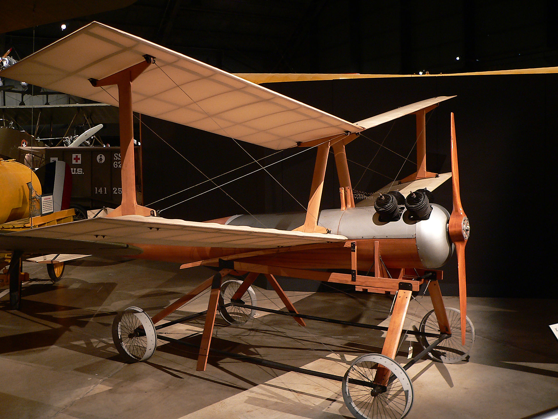 "The first ""drone"", or radio controlled unmanned military fighting aircraft by Charles F. Kettering, 1917. Photo by: Wikipedia"