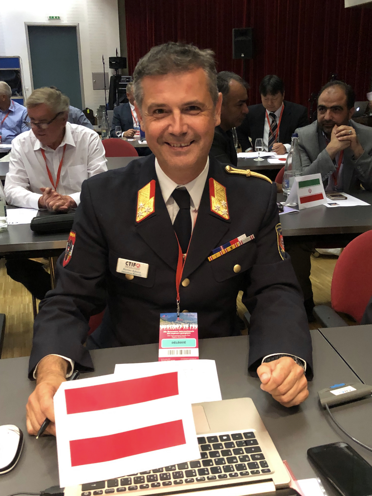 Roman Sykora, General Secretary of the CTIF Executive Board as of July 19, 2019