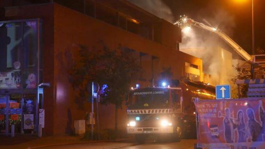 Two Belgian firefighters died in a fire gas ignition