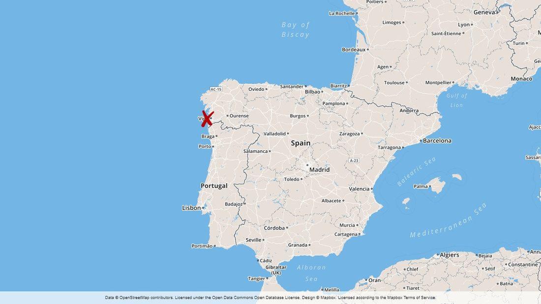 Map Of Spain Vigo.Hundreds Of Injured During Spanish Music Festival In Vigo Ctif