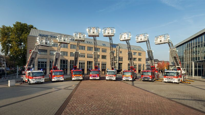 Magirus Ladder Trucks