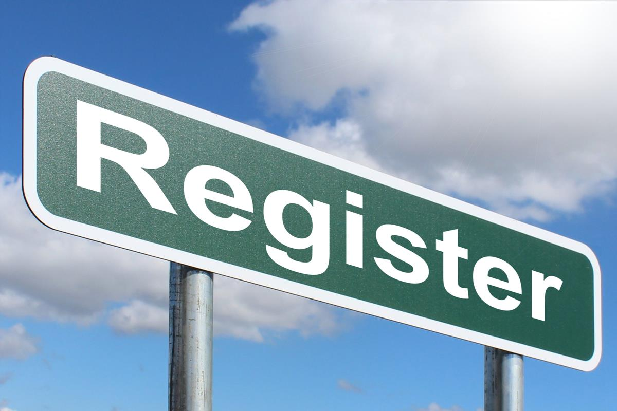 Register Roadsign