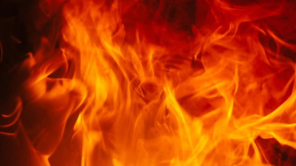Abstract image of fire flames
