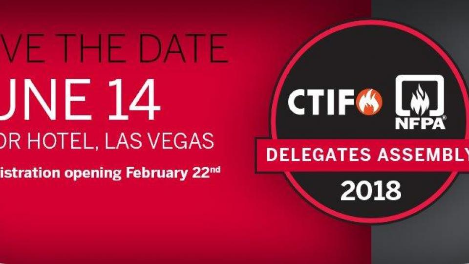 CTIF DA - NFPA Las Vegas Save the Date Banner