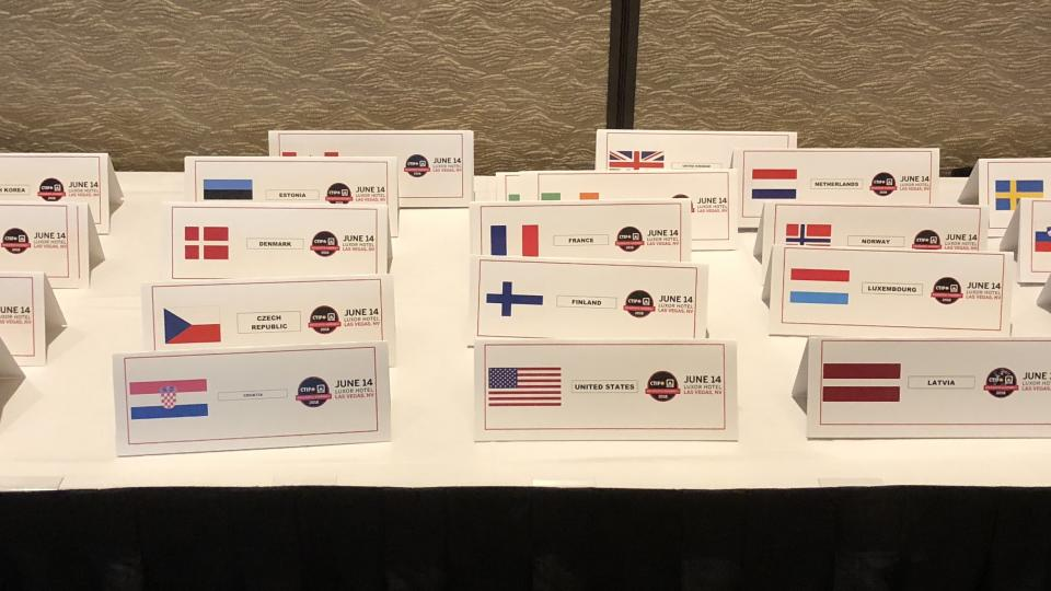 Countries represented at DA 2018