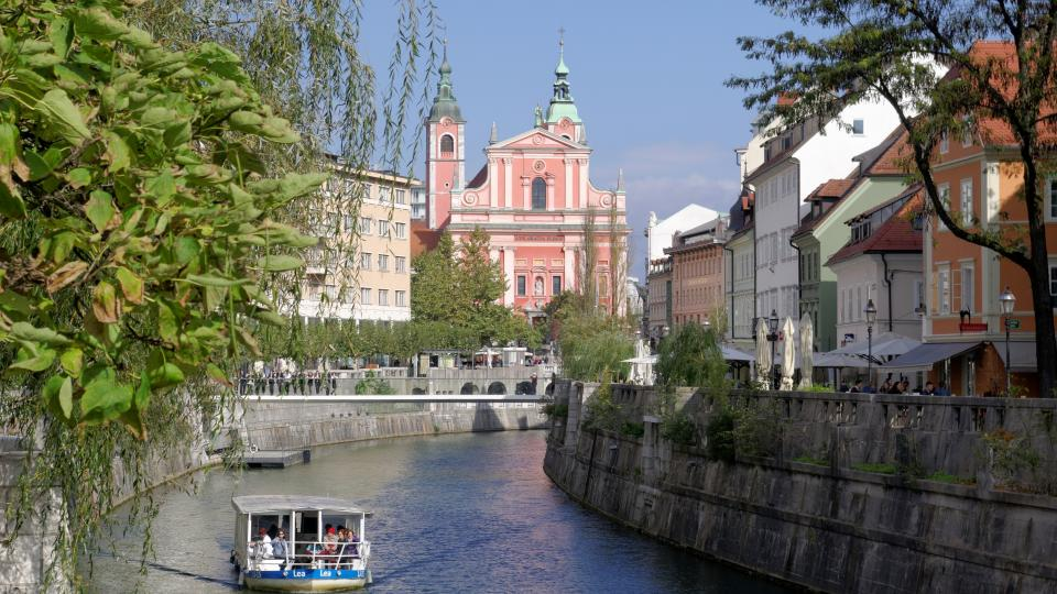 Ljubljana Old Town. Photo: Wikipedia Commons Licens