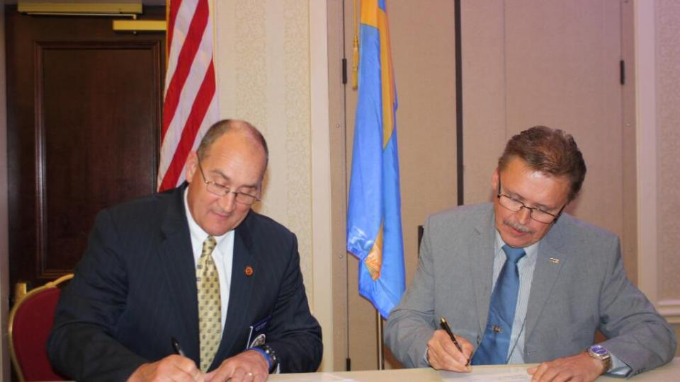 CTIF sign Memorandum of Understanding with Metro Chiefs