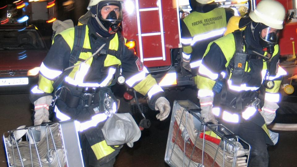 German Volunteer Firefighters. Photo: Wikipedia