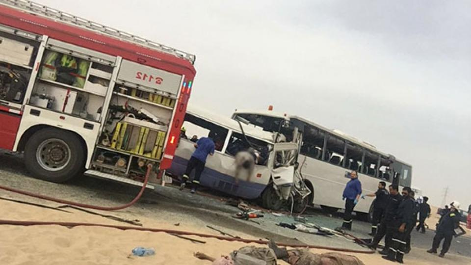 Kuwait bus crash