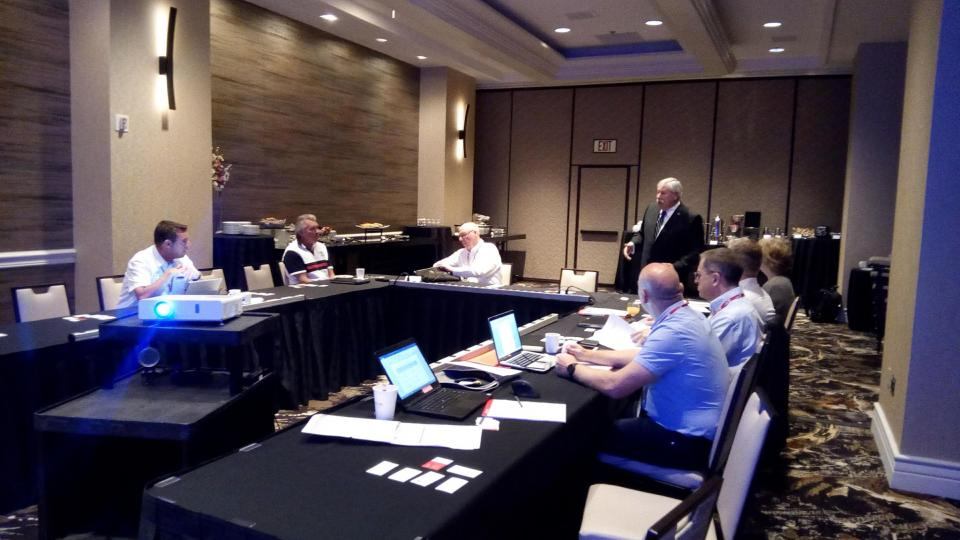 Fire Prevention Meeting during DA in Las Vegas 2018
