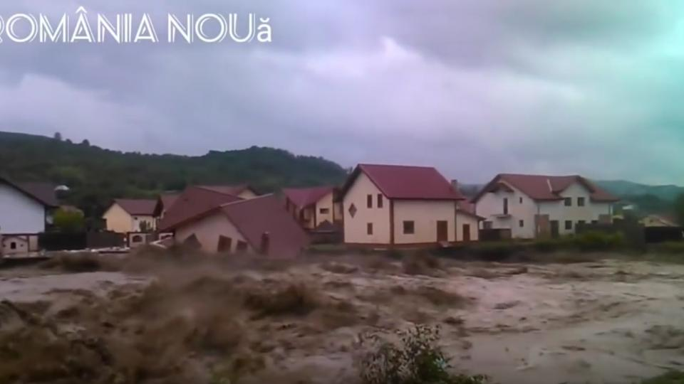 Romania floods June 2018