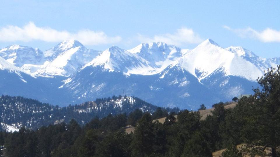 Sangre de Christo Mountains. Photo: Wikipedia