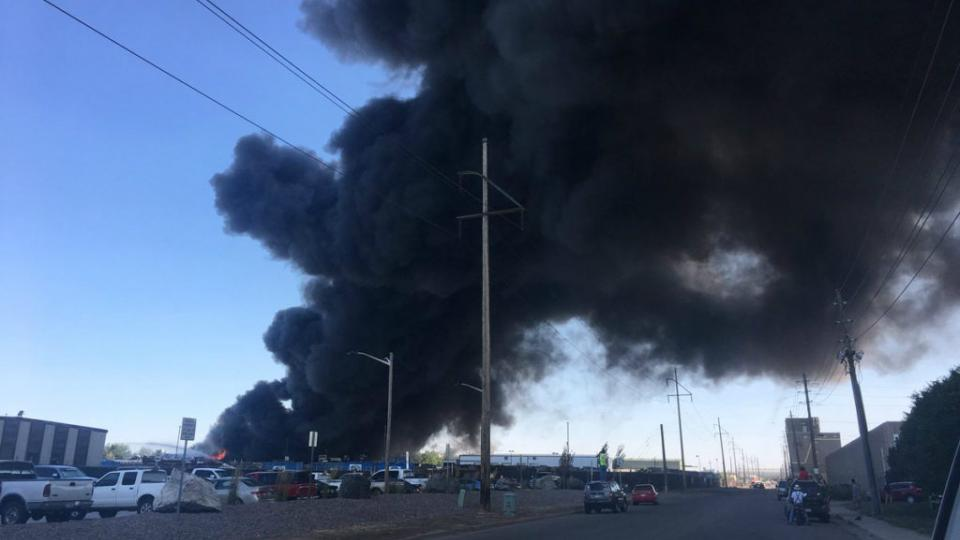 American Waste and Recycling Facility Fires Spike in 2018 August 24, 2018 by Alyssa Danigelis facility fires (Photo: A scrap yard fire near Denver in early July. Credit: @RyanO_KDVR on Twitter)