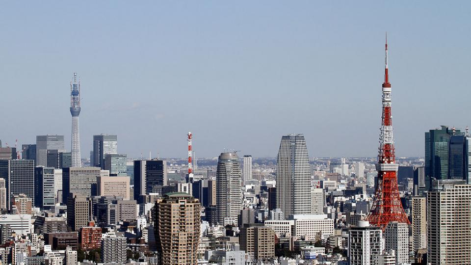 Tokyo skyline with Tokyo Skytree. Photo: Wikipedia Commons