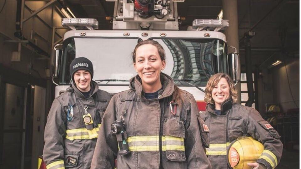 Vancouver fire station women firefighters