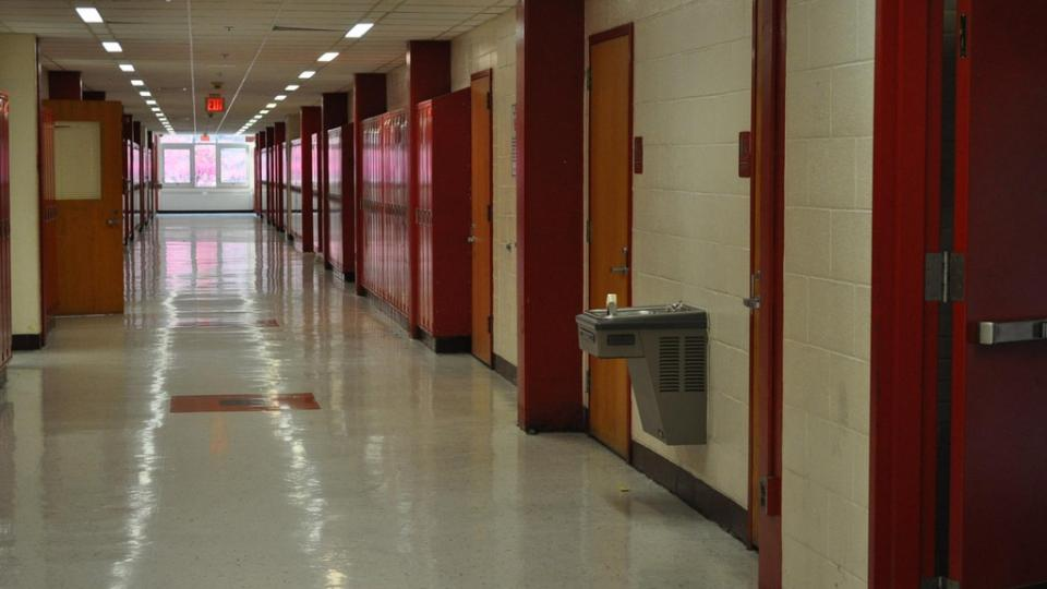 School corridor. Photo: Flickr