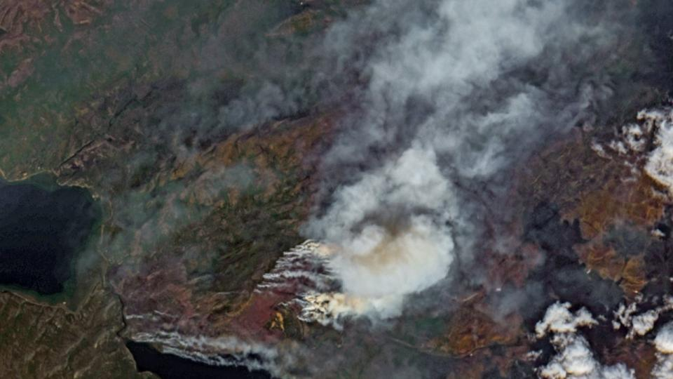 Wildfires in the Arctic, July 2019.