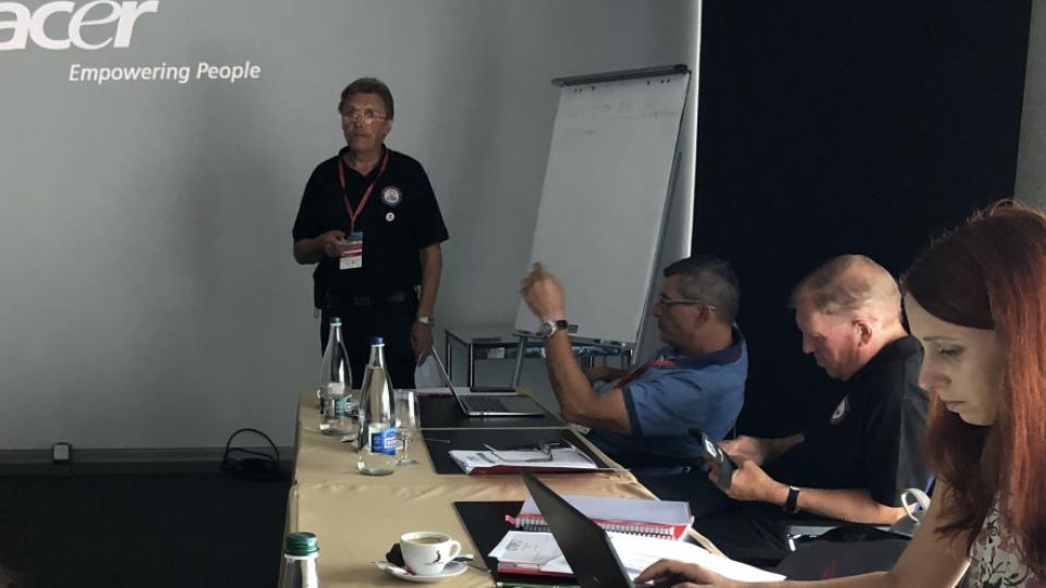 The Executive Committee meeting in Martigny on July 18, 2019.
