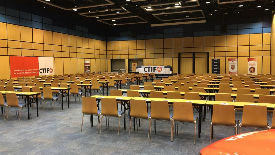 The Ostrava Seminar Hall at Clarion Hotel