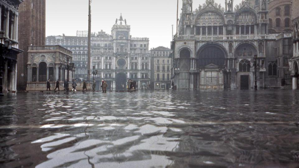 The 1966 flood in Venice. Photo: Wikipedia