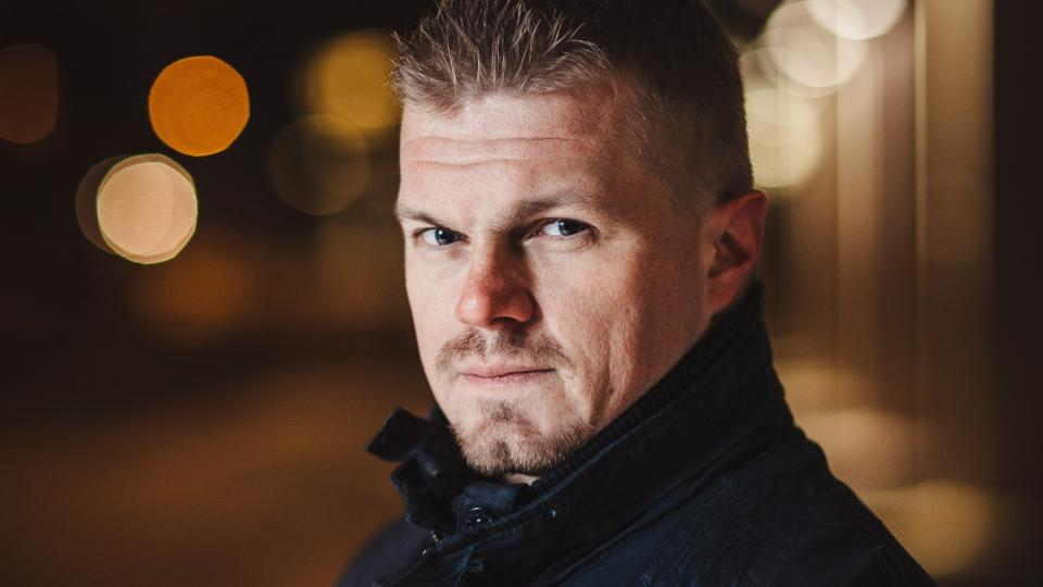 Mikko Saastamoinen, Firefighter of the Year in Finland 2020. Photo: Rescue information