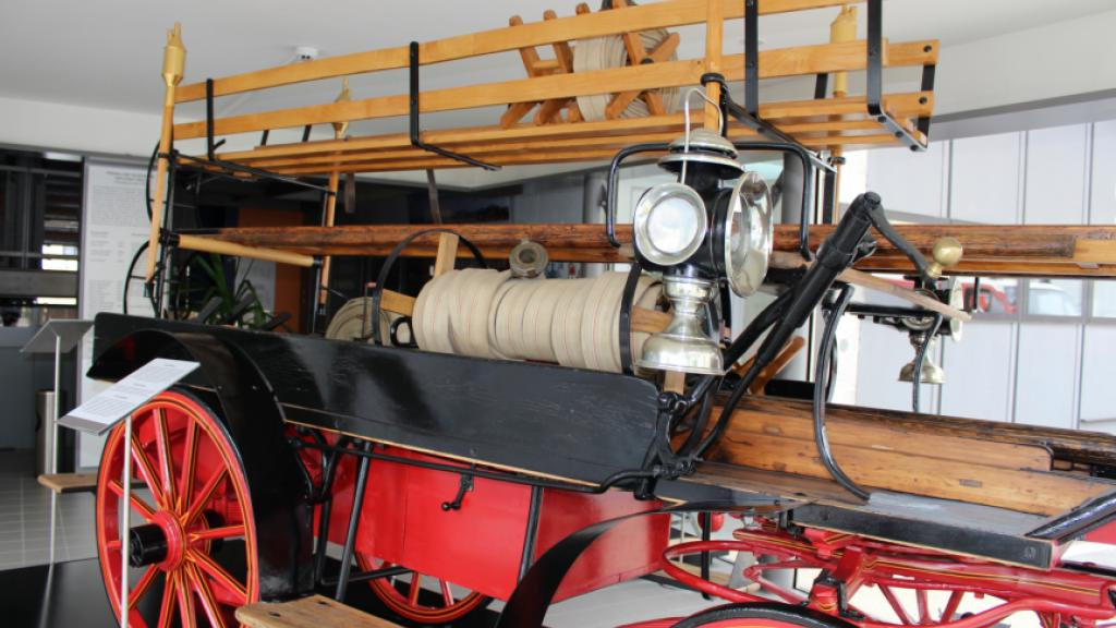 Historical fire vehicle from the Weiz Collection