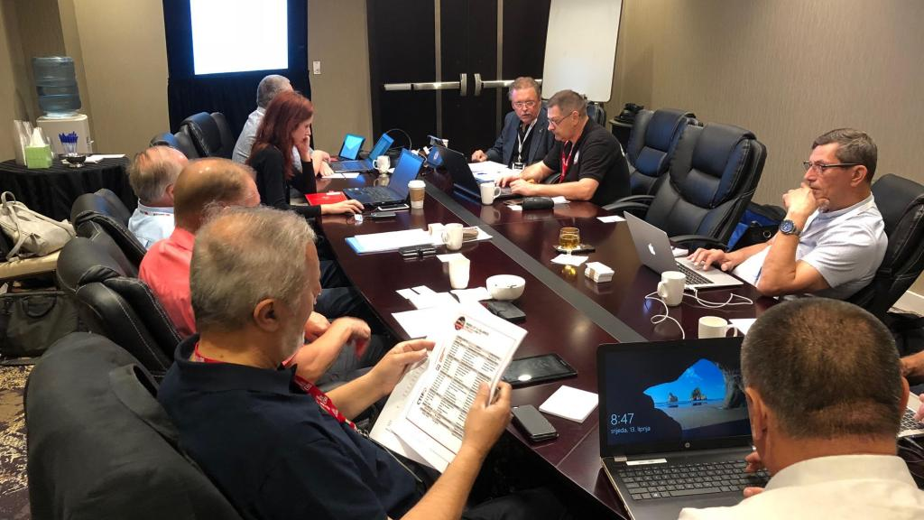 CTIF Executive Committee meeting in Las Vegas June 13 - 2018