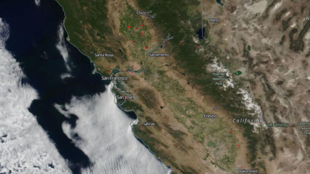 California wildfires June 14 2018