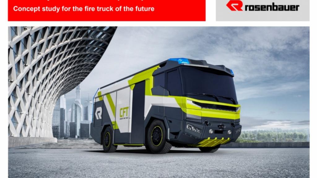 Rosenbauer Eelectric Concent Truck