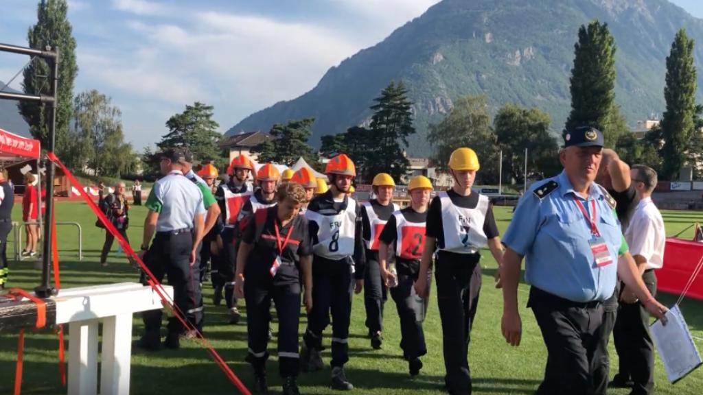 The 2019 CTIF Youth Games in Martigny.