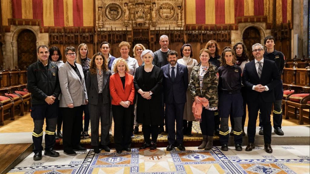 CTIF Commission for Women in Fire & Rescue met for their bi-yearly meeting, this time in Barcelona.