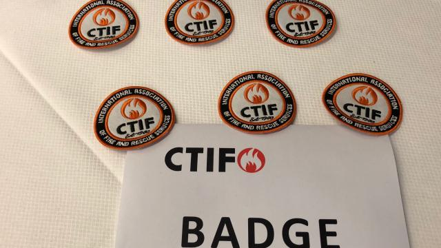 These embroidered badges can be sown onto any piece of clothing or soft surface. We also have printed badges for heat transfer onto jackets.