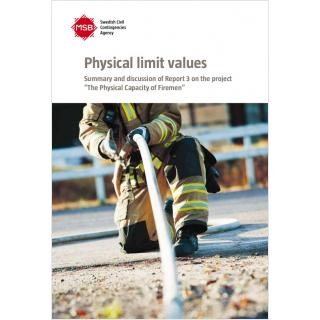 Physical limit values: Three studies of strength among firemen