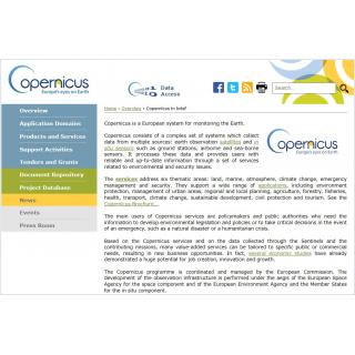 About Copernicus