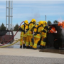 Hydrogen response training. Photo by CTIF France
